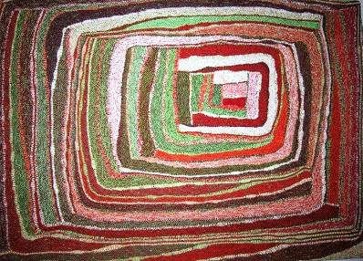 """Gabriele Tippel - Hier sieht man meine """"ULI-Spirale"""" in KlugeStrickArt"""